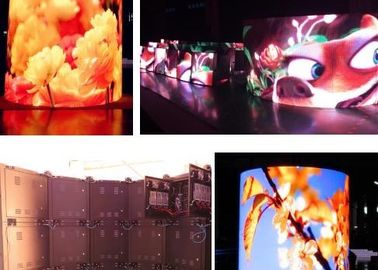 P2 Small Pixel Pitch Led Display ,  Clear Indoor Led Panel Video Wall