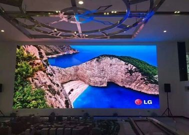 Clear P2 Commercial Led Display Small Pitch 256 X 128mm Video Wall