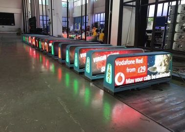 Led Full Color Screen Ip65 , Taxi Led Sign for Outdoor Advertisement
