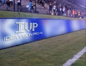 Football Arena Led Display Banner , Uv Proof / Waterproof Led Sign 12mm
