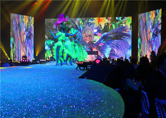 Indoor P3 Full Color Led Display High Definition Customized Creative Application