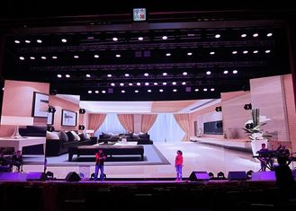 Hd Rgb Fucll Color Led Display Indoor 3.91mm Pixel For Stage Background