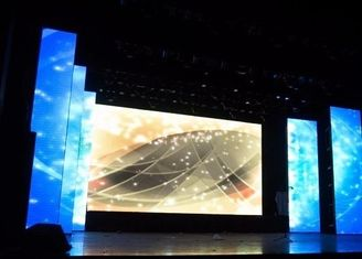 Inside Ultra Thin Smd Stage Led Screen Background With 4.81mm Pixel