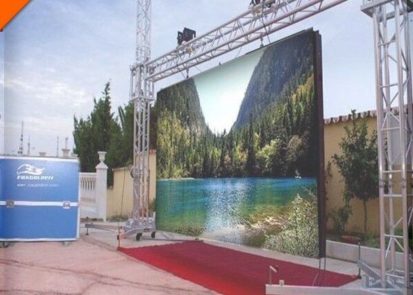 Hd Stage Rental Led Display Clear 3 91mm For Outdoor Stage Background