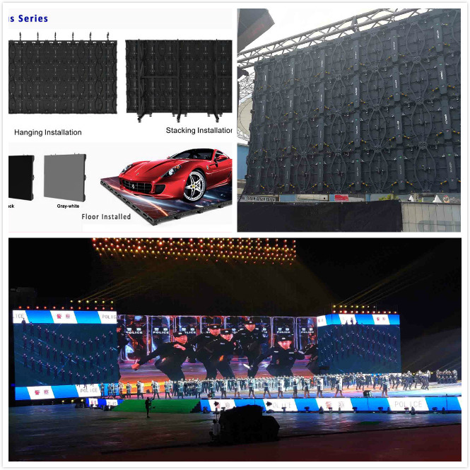 Outdoor P3.91 Stage Rental LED Display Nation Star SMD2020 High Refresh Rate 3840Hz